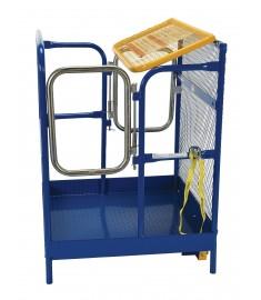 Work Platform - Dual Entry - 48x48 WP-4848-DD