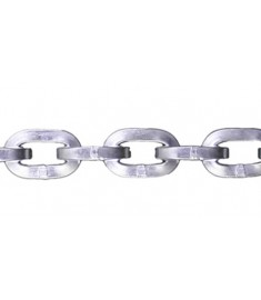 """3/8"""" Zinc Plated Security Chain - Sold By The Foot 318600"""